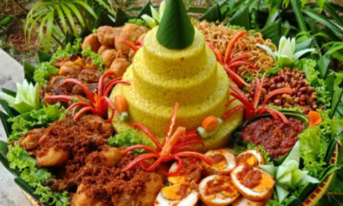 Resep Nasi Tumpeng Kuning Lauk Lengkap Dan Sederhana